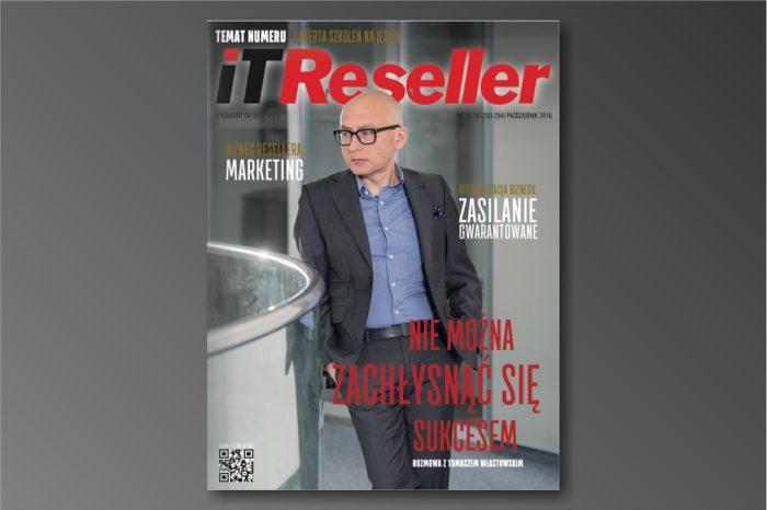 IT Reseller nr. 15/16 (293-294) Październik 2016. Temat numeru: OFERTA SZKOLEŃ NA JESIEŃ