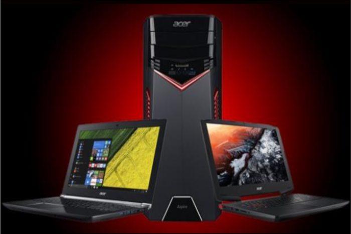 ACER na CES 2017 w Las Vegas prezentuje komputery Aspire VX, V Nitro i serię GX.