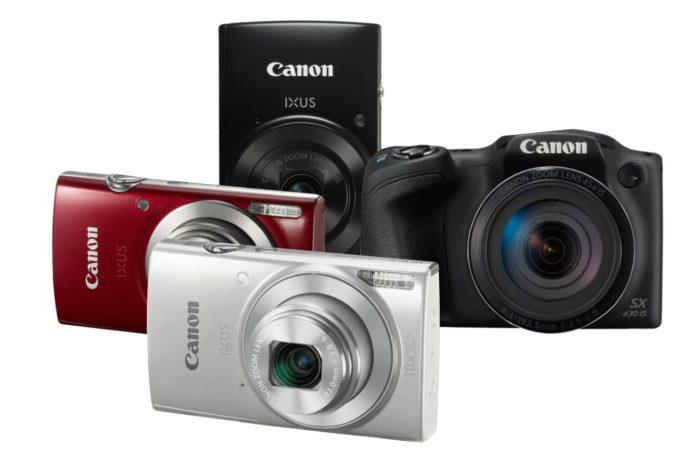 """Canon prezentuje nowe aparaty kompaktowe z serii PowerShot i IXUS """"Uchwycić każdą chwilę"""""""