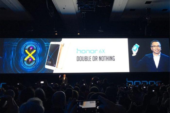 """""""Wszystko, albo nic"""" - Honor 6X zaprezentowany na Międzynarodowych Targach CES 2017 w Las Vegas."""