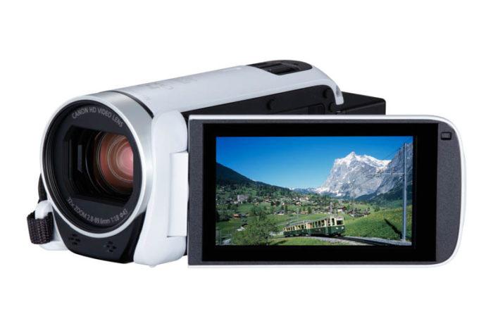 """Canon prezentuje nową serię kamer LEGRIA HF """"Nagrywaj i udostępniaj""""."""