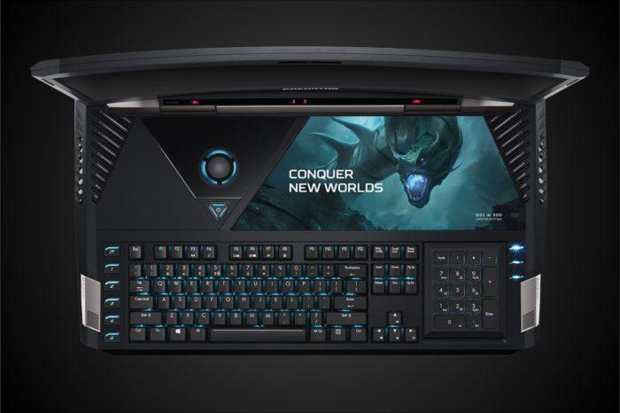 ACER na CES 2017 - zaprezentował pierwszy w historii laptop z zakrzywionym ekranem Predator 21 X, trafi do sprzedaży jeszcze w tym kwartale.