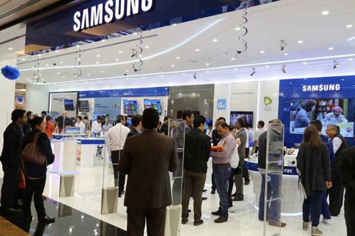 Samsung Electronics Polska otwiera nowy (swój drugi) Brand Store w Warszawie.