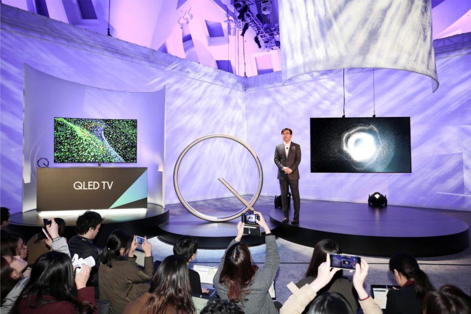 Samsung podczas targów CES 2017, zdobył 34 nagrody za innowacje (CES Innovation Award) i ponad 80 nagród Best of CES Honors.