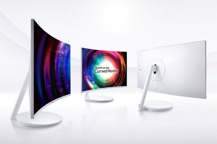 Samsung na targach CES 2017, zaprezentuje nowy monitor Quantum Dot z zakrzywionym ekranem.