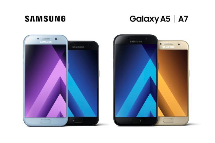Samsung przedstawia najnowszą serię wysokiej klasy smartfonów z serii Galaxy A (w czterech stylowych kolorach).