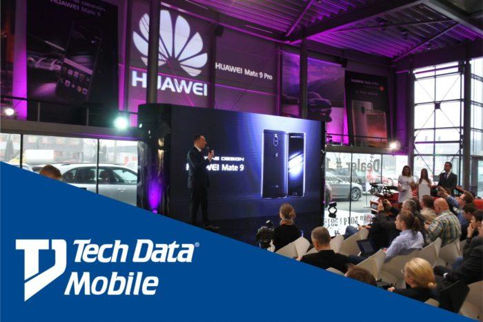 Tech Data świętuje kolejny sukces Tech Daty Mobile – podpisany kontrakt z gigantem branży telekomunikacyjnej, firmą Huawei.