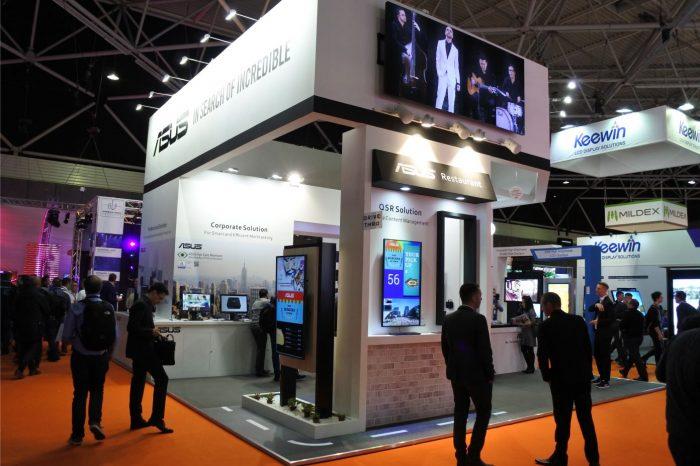 ASUS na targach ISE 2017 w Amsterdamie, zaprezentował najnowsze produkty z linii Digital Signage.