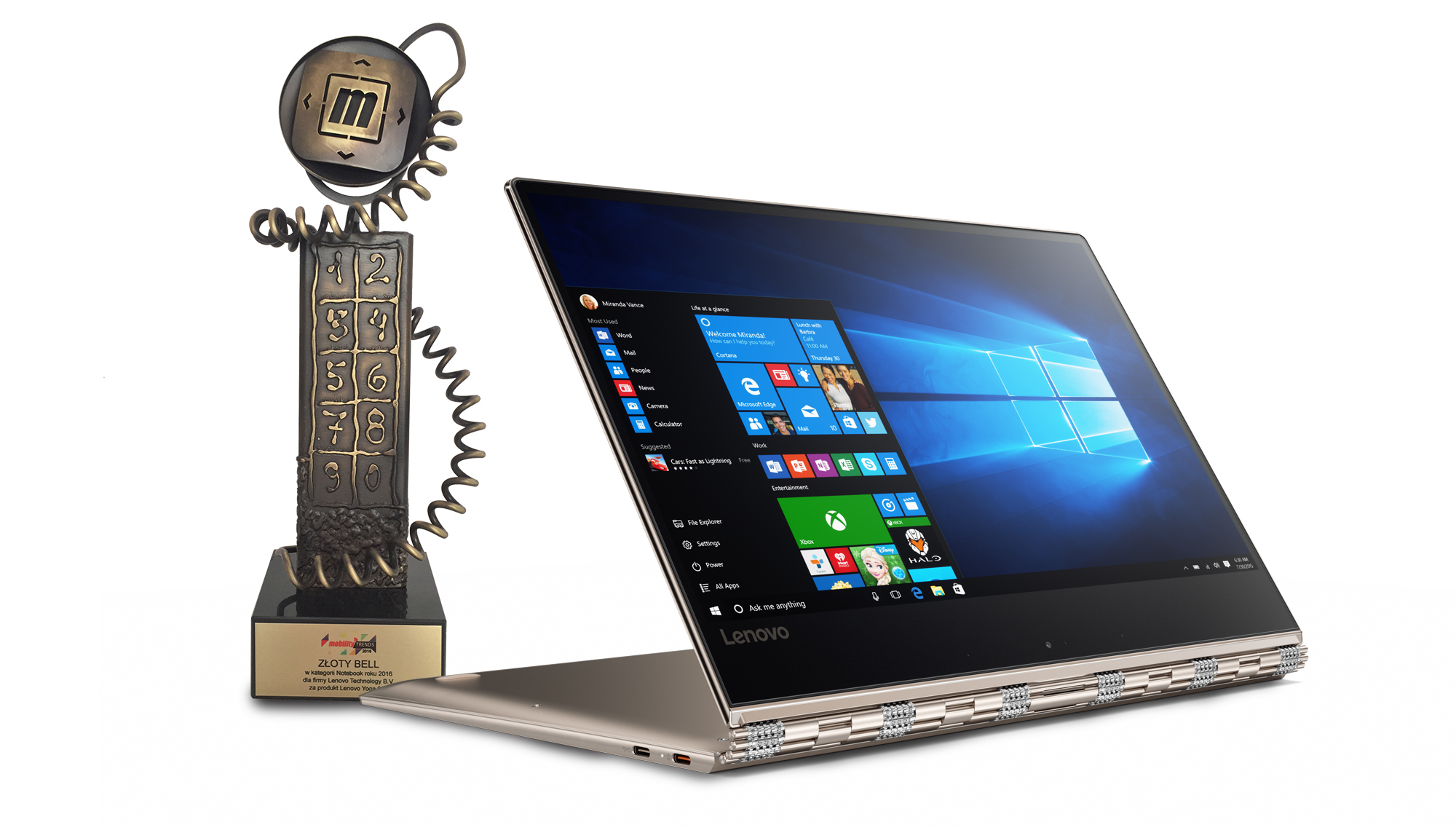 Lenovo bezkonkurencyjne podczas Gali Mobility Trends 2016 ...