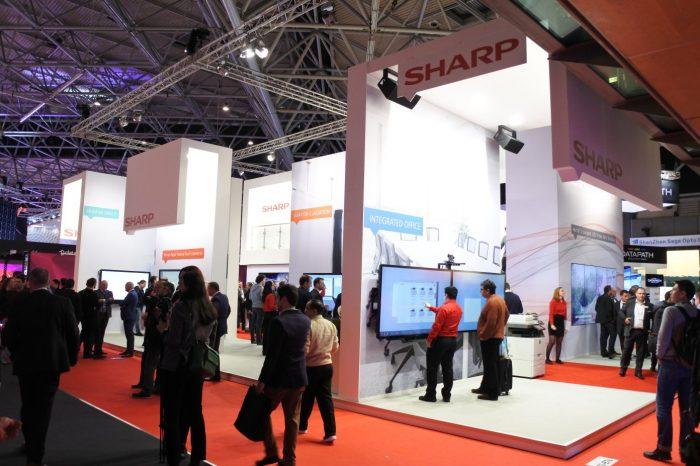 SHARP na targach ISE 2017 w Amsterdamie, zaprezentował powiększoną, innowacyjną ofertę produktów.