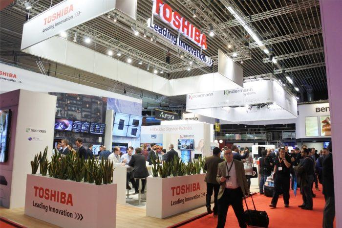 Toshiba zapowiada wysoki wzrost rocznego przychodu - Podczas ISE 2018 firma zaprezentuje swoje najnowsze rozwiązania.
