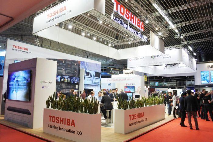 TOSHIBA na targach ISE 2017, przedstawiła nową generację monitorów biznesowych z serii TD-E3 oraz premierową serię TD-P3.