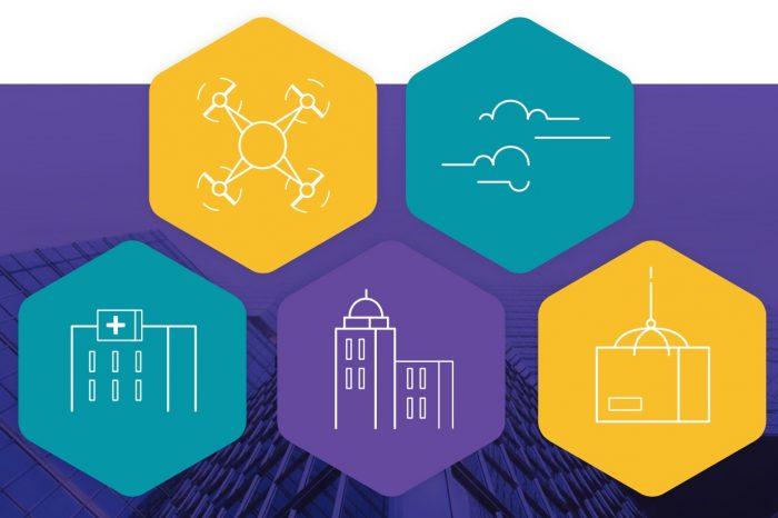 """""""Drony w inteligentnych miastach"""" - Cloud Security Alliance i Securing Smart Cities przedstawiają najlepsze praktyki dotyczące dronów."""