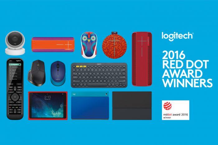 Logitech zdobywa 15 nagród GOOD DESIGN 2016, ustanawiając przy tym swój nowy rekord.