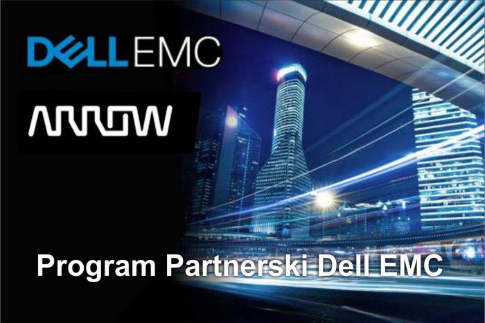 Arrow Electronics został Strategicznym Globalnym Dystrybutorem, nowego zintegrowanego Programu Partnerskiego Dell EMC.