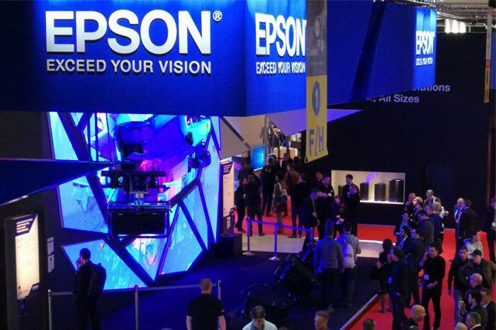 EPSON podczas targów ISE 2018 zaprezentuje szeroką gamę nowych produktów – Premierowo, profesjonalne produkty dla branży audiowizualnej, biznesu i reklamy.