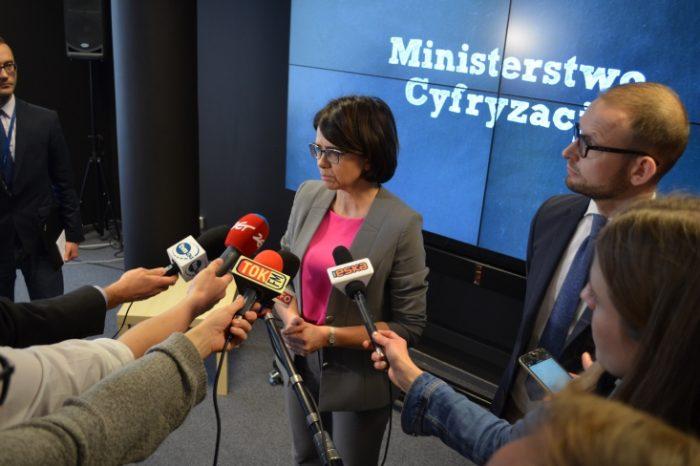Anna Streżyńska z nowym organem doradczym - doświadczeni eksperci rynku telekomunikacyjnego mają wspierać swoją wiedzą Ministerstwo Cyfryzacji.