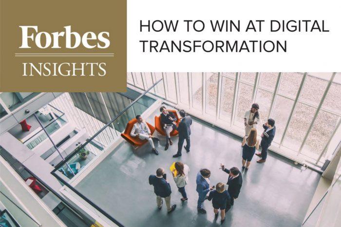Forbes Insight: Cyfrowa Transformacja priorytetem połowy światowych przedsiębiorstw.