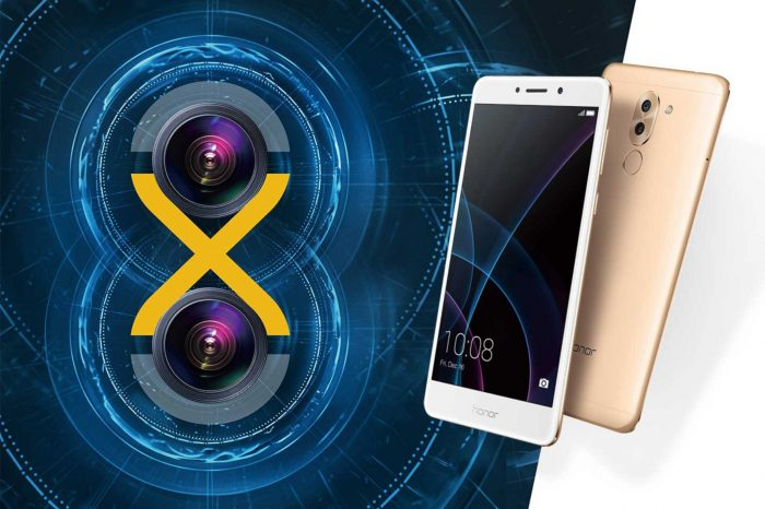 """Wydajny i funkcjonalny smartfon Honor 6X z mocą podwójnego aparatu """"Double or nothing"""" - dostępny już w Polsce."""