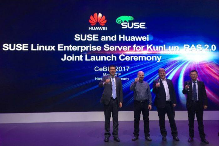 Huawei i SUSE zaprezentowały system SUSE Linux Enterprise Server dla serwerów KunLun z technologią RAS 2.0.