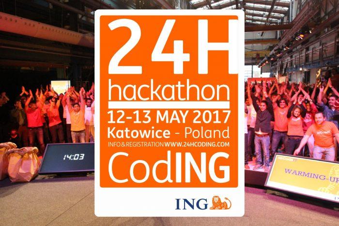 Zaprojektuj bank przyszłości na globalnym hackathonie ING w Katowicach - po raz pierwszy w Polsce odbędzie się globalny hackathon Grupy ING.
