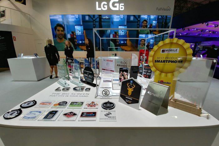 LG G6 najlepszym smartfonem na MWC 2017 - Nowy flagowiec otrzymał aż 31 nagród podczas targów w Barcelonie.
