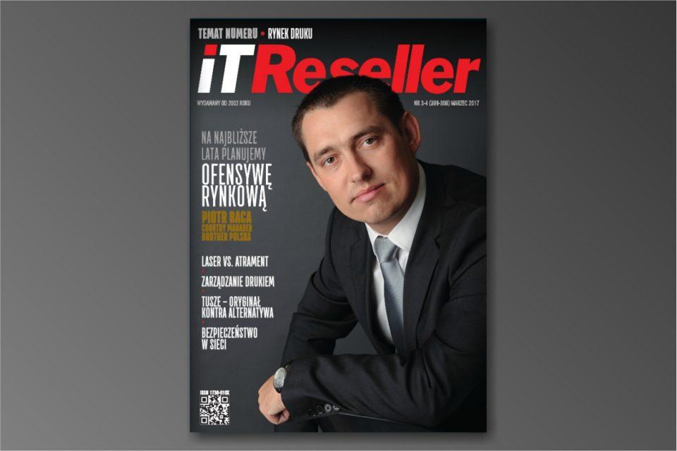 Najnowsze wydanie magazynu IT Reseller nr. 3/4 (301-302) Marzec 2017. Temat numeru: RYNEK DRUKU