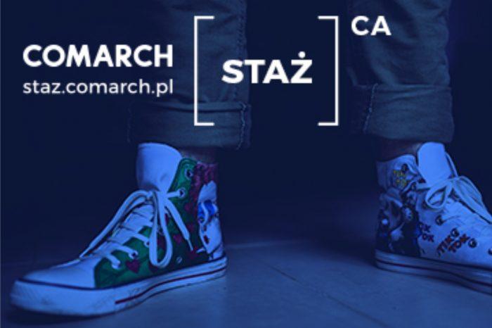 Comarch - do 27 kwietnia trwa rekrutacja do jednego z największych programów stażowych w branży IT w Europie Środkowo-Wschodniej.