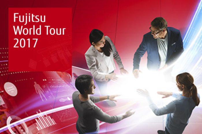 Współkreacja, łączenie wiedzy i doświadczeń to głównie idee innowacji w biznesie - konferencja Fujitsu World Tour 2017 w Warszawie.