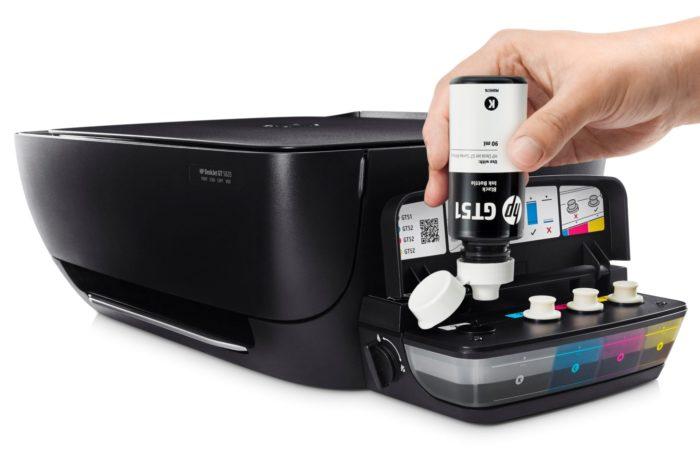 HP prezentuje nowe urządzenie wielofunkcyjne domowego użytku z systemem stałego zasilania w atrament.