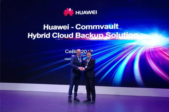 Huawei i Commvault wspólnie wprowadzają na rynek hybrydowe rozwiązanie do tworzenia kopii zapasowych w chmurze.