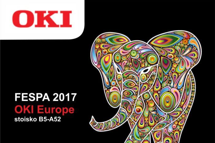 OKI na największych targach druku wielkoformatowego FESPA 2017 w Hamburgu, zaprezentuje portfolio dla profesjonalnego druku.