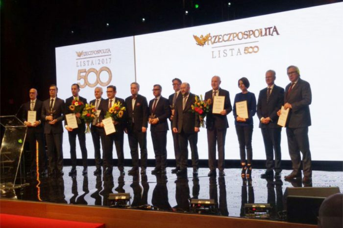 Grupa AB na pierwszym miejscu w rankingu firm IT, na Liście 500 Rzeczpospolitej.