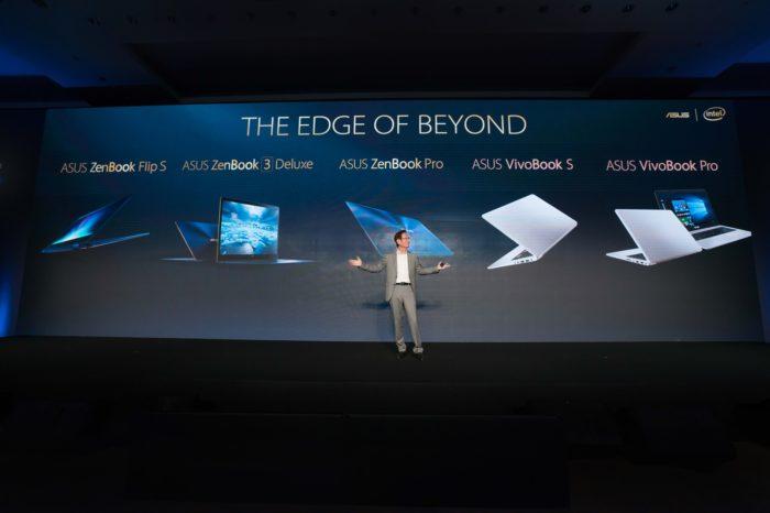 """ASUS podczas konferencji """"Na granicy przyszłości"""" na Computex 2017, zaprezentował nowe notebooki z serii ZenBook i VivoBook."""