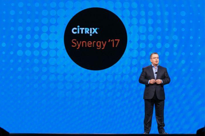 Konferencji Citrix Synergy 2017 w Orlando na Florydzie - Citrix przedstawia jak zwiększyć wydajność i zaangażowanie pracowników.