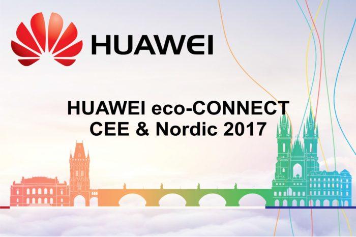 Konferencja HUAWEI eco – CONNECT CEE & Nordic 2017 -  Połączone siły globalnych partnerów, w drodze do cyfrowej transformacji.