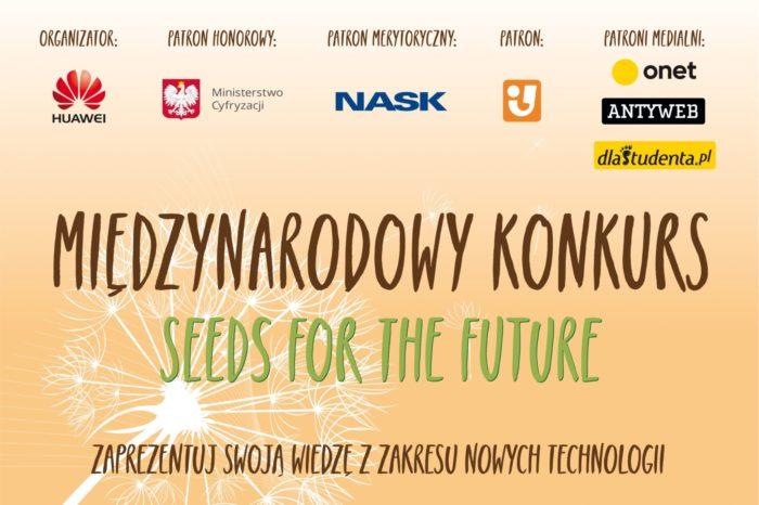 """Konkurs """"Seeds for the Future Polska"""" - to już naprawdę ostatni dzwonek na zgłoszenia do IV edycji konkursu."""