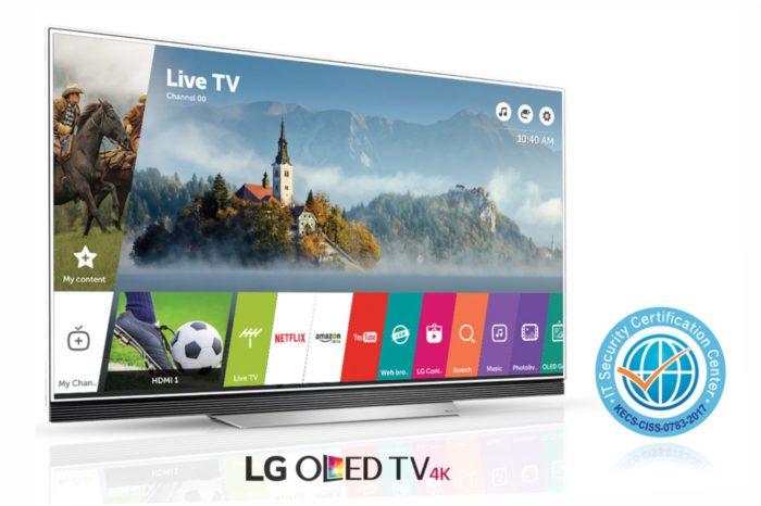Najnowsza platforma Smart TV dla telewizorów LG uzyskała prestiżowy certyfikat CC, przyznany za najwyższy poziom bezpieczeństwa.