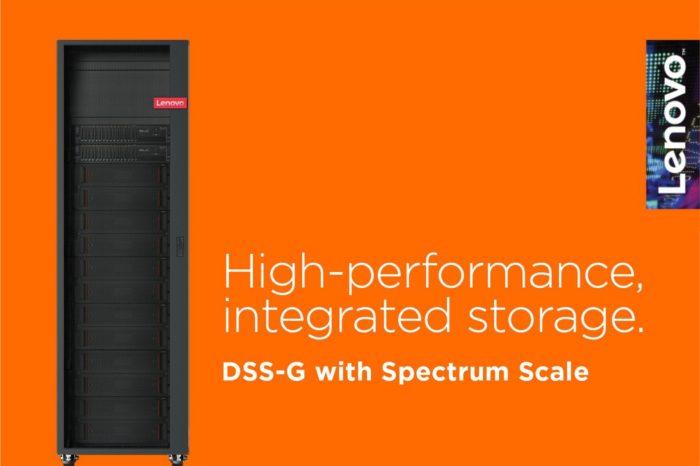 Lenovo poszerza ofertę dla definiowanych programowo centrów danych, wprowadzając rozwiązanie do pamięci masowej DSS-G.
