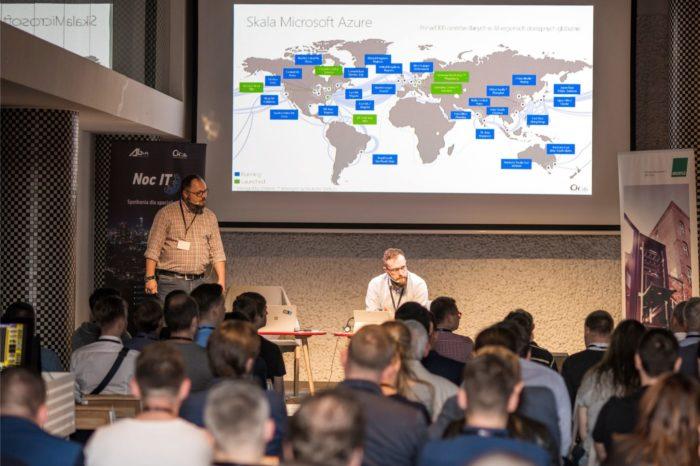 Czwarta edycja Nocy IT organizowana przez AB S.A. z rekordową liczbą uczestników. Głównym partnerem wydarzenia była firma Microsoft.