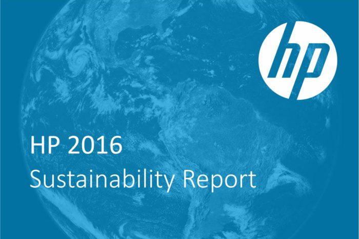 """HP opublikowała raport """"HP 2016 Sustainability Report"""" - raport przedstawia nowe inicjatywy i dotyczy zrównoważonego rozwoju."""