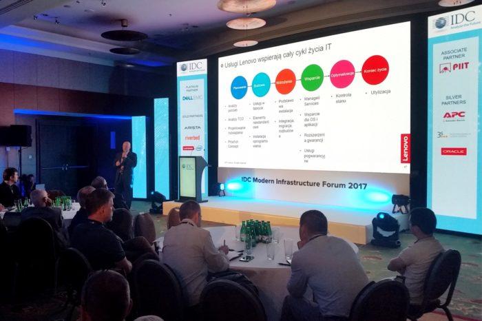 Lenovo prezentuje Centrum Danych definiowane przez przyszłe wymagania - najlepsze na rynku połączenie wydajności, elastyczności i niezawodności.