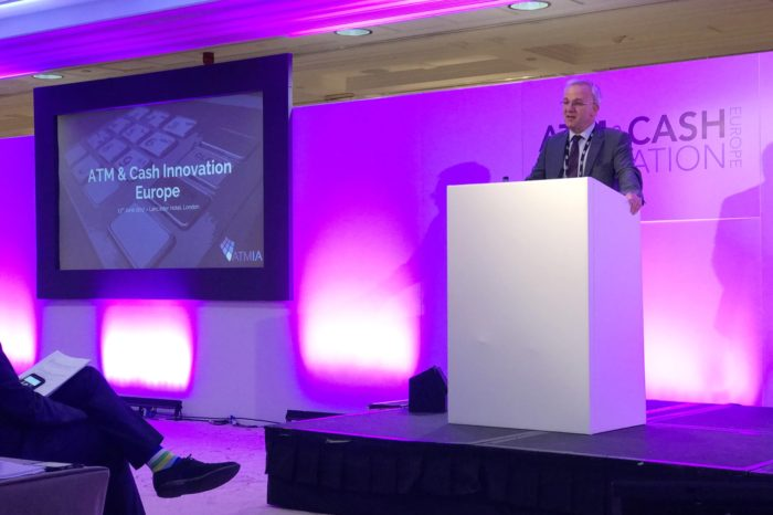 OKI podczas wydarzenia ATM & Cash Innovation Europe, wyróżniona nagrodą Silver Innovation Award od ATM Industry Association