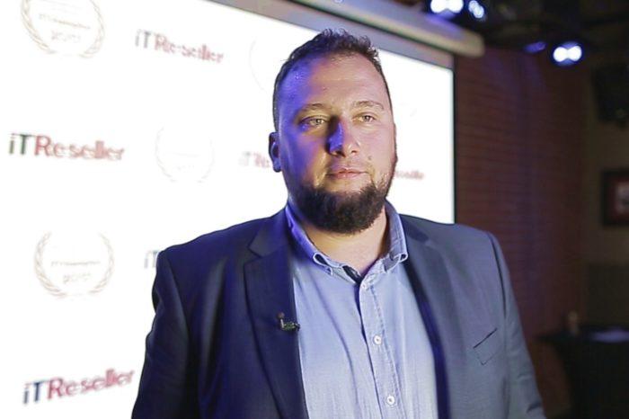 Paweł Piętka - Prezes zarządu S4E S.A. osobiście odebrał nagrodę IT Champion 2017 podczas gali IT Reseller - Mistrzowie Nowych Technologii 2017.