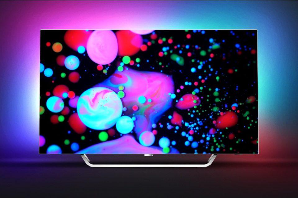 """Philips TV OLED 9002 o przekątnej ekranu 55"""" otrzymał prestiżową nagrodę EISA w kategorii """"Najlepszy zakup OLED 2017-2018""""."""
