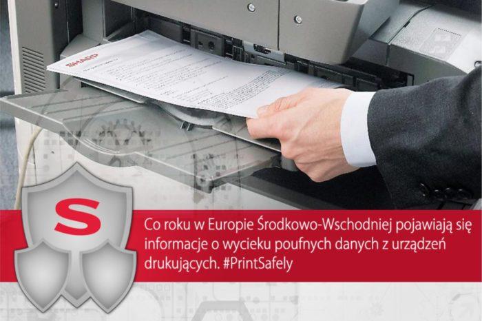 Europejskie firmy same narażają się na niebezpieczeństwo. Powalające wyniki badań przeprowadzonych przez Sharp Electronics CEE.