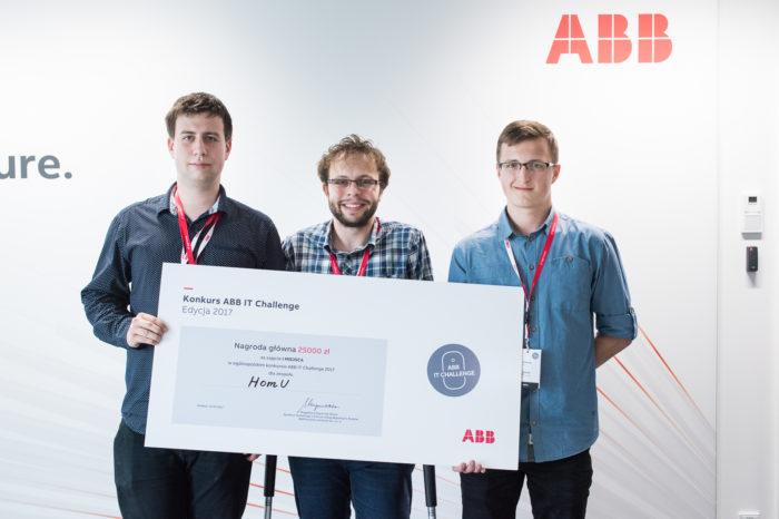 Finał 10 edycji ogólnopolskiego konkursu technologicznego ABB IT Challenge - Zwycięstwo studentów z Politechniki Łódzkiej.