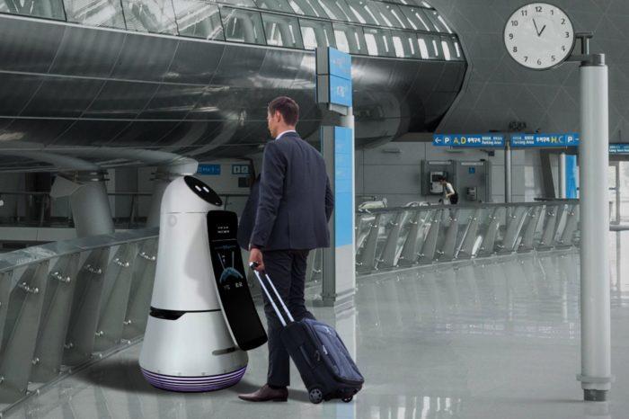LG przekazuje najnowsze roboty dla portu lotniczego Incheon International Airport w Seulu, ułatwią życie milionom pasażerów.