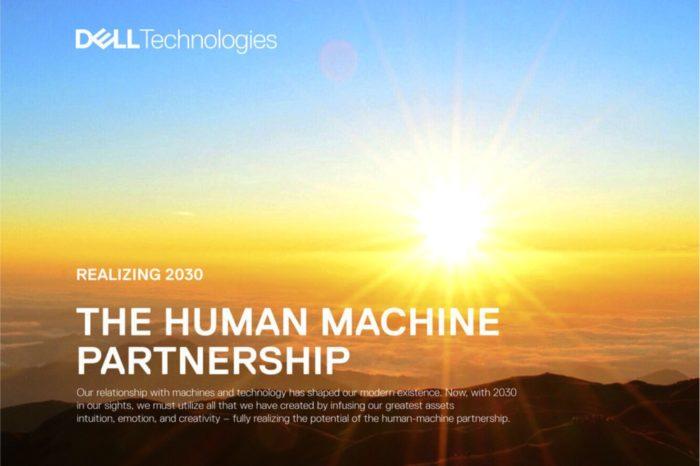 """Dell Technologies przedstawia raport """"The Next Era of Human-Machine Partnerships"""" - Nowa era współpracy ludzi i maszyn."""