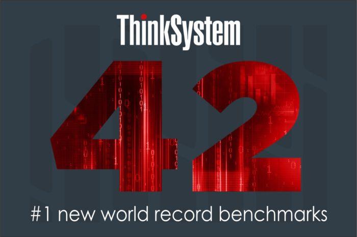 Serwery Lenovo z oferty ThinkSystem z najnowszymi procesorami Intel® Xeon® Scalable - ustanawiają 42 nowe rekordy w testach porównawczych